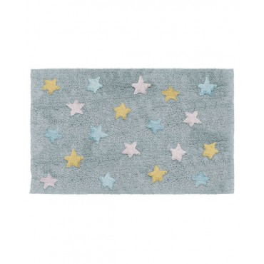 Alfombra NAFNAF Stars multicolor azul