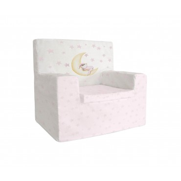Sillon Bebe Oso Marlon night rosa