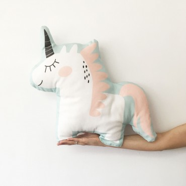 Cojín forma Unicornio (Polar Valencia)