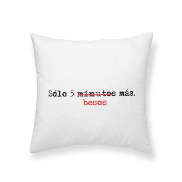 Cojín Solo 5 minutos (Maria J.L. Hierro)